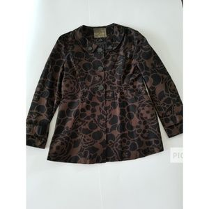 Mac and Jac brown and black jackets blazer size 12